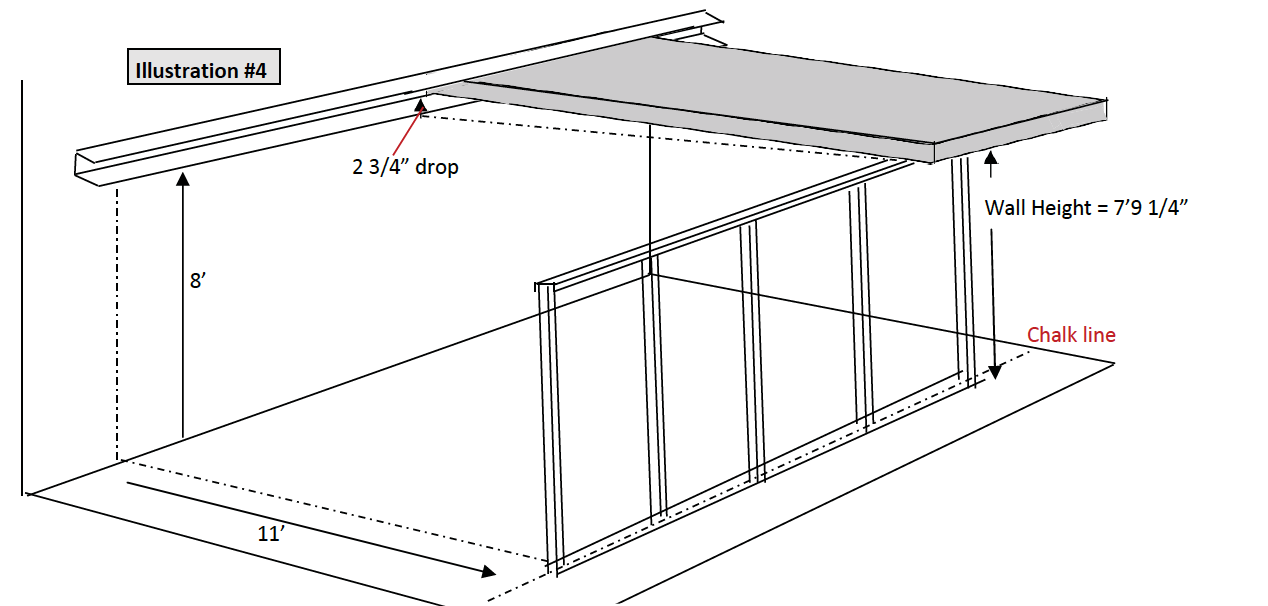 Calculate Front Wall Height
